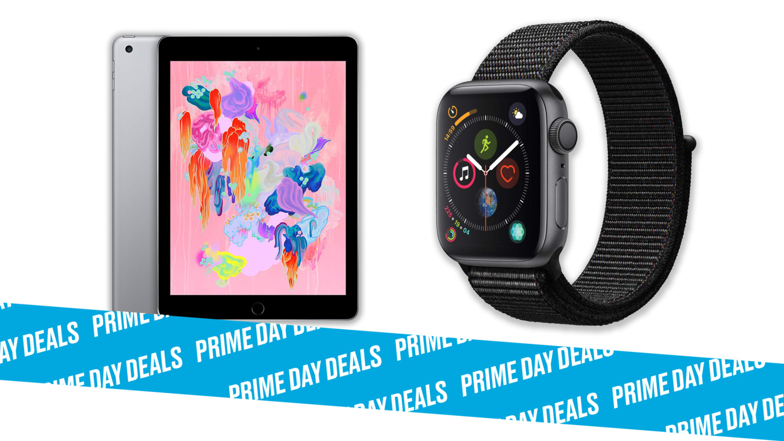 Apple Watch 3 and 4 and Select iPads are on Deep Sale During Amazon Prime Day