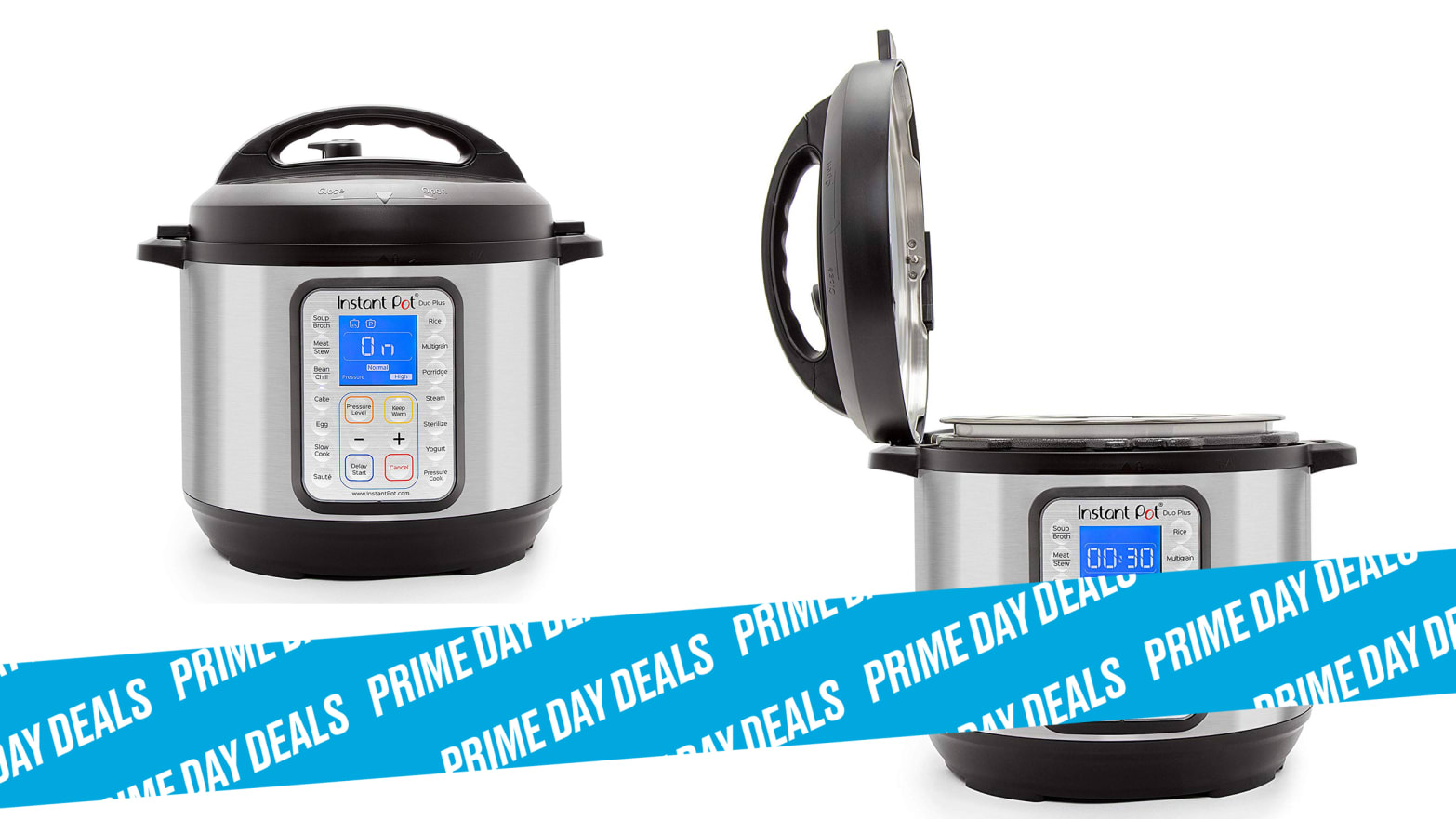 Save More Than 50% on Instant Pot Pressure Cookers, Blenders, and Sous Vides During Prime Day