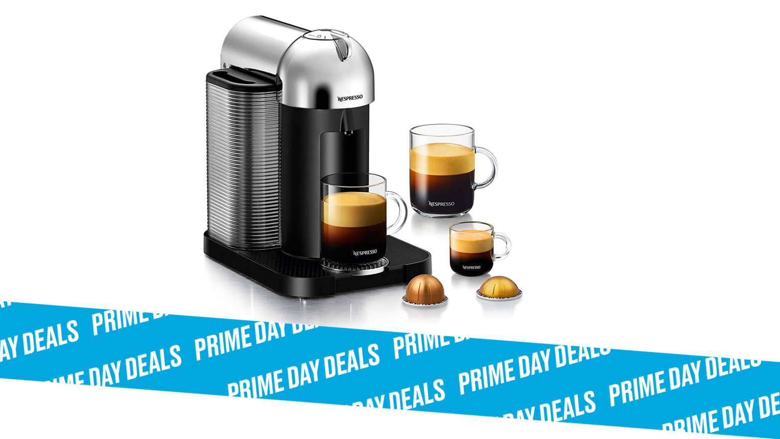 Save 25% on The Nespresso Vertuo Coffee and Espresso Machine by Breville During Prime Day