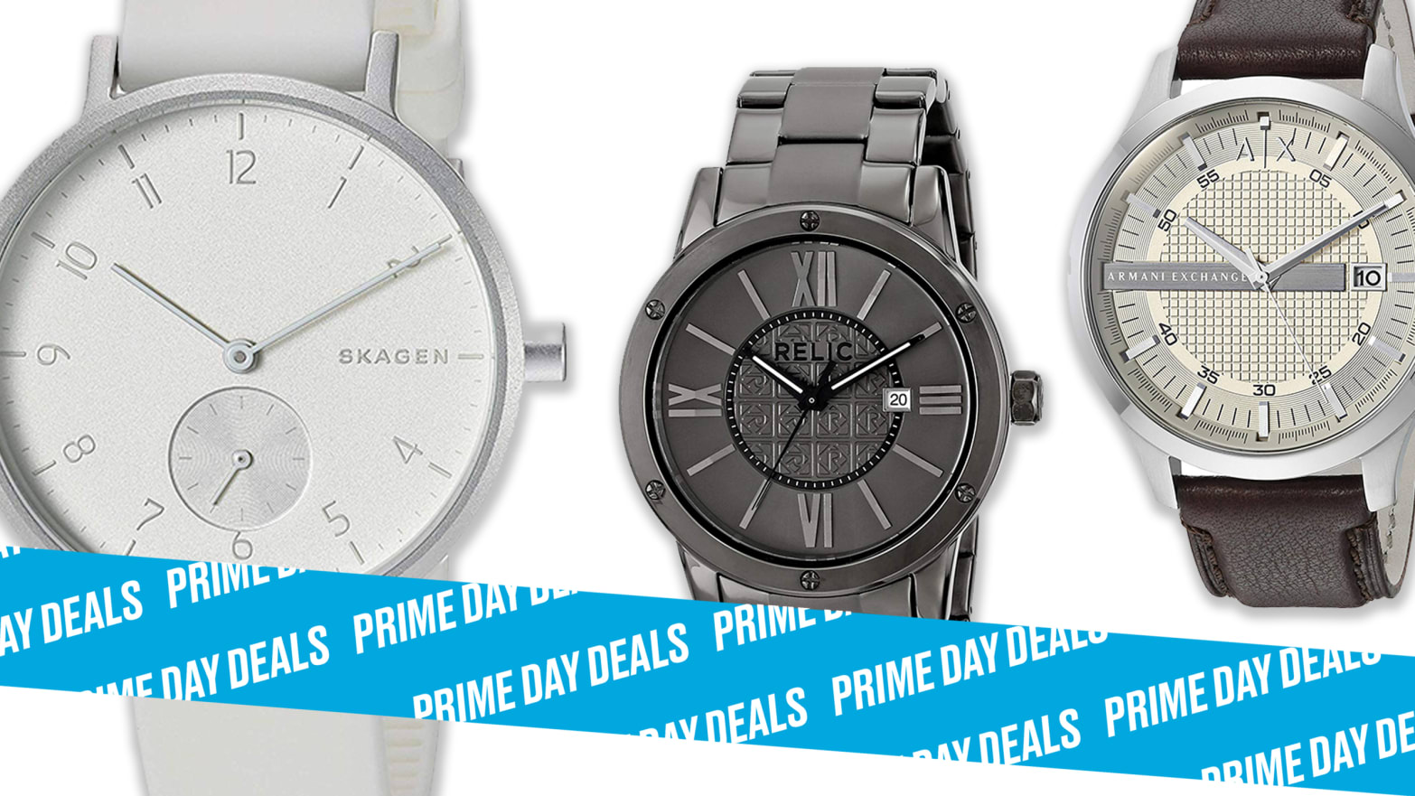 Amazon Prime Day Had the Top Brand Watches You Want at Up to 50% Off