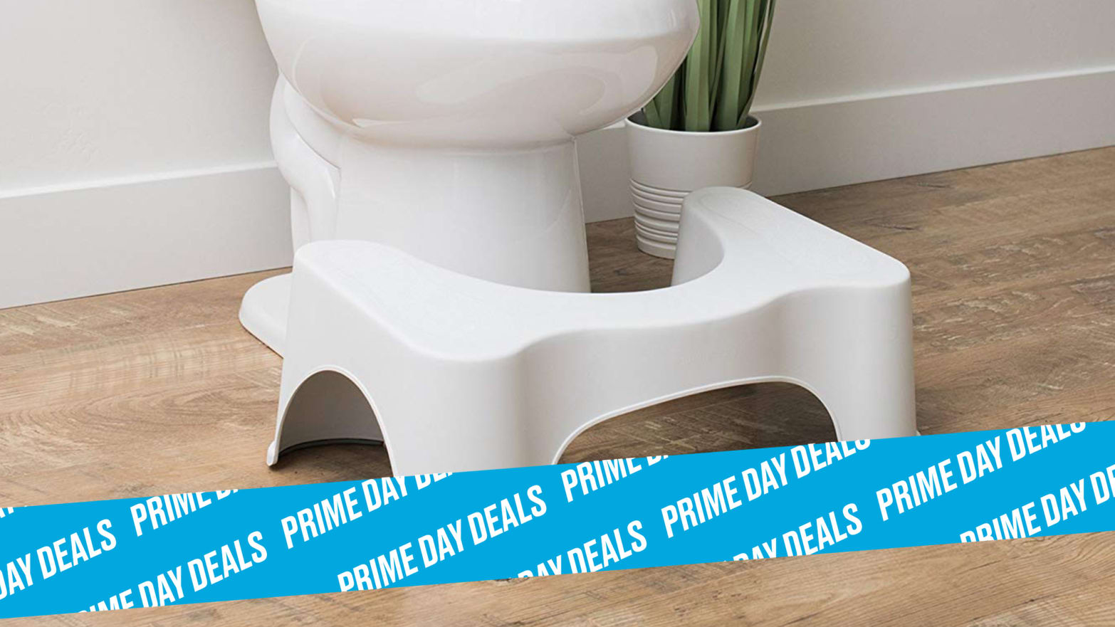 Amazon Marked the Squatty Potty Down 30% for Prime Day