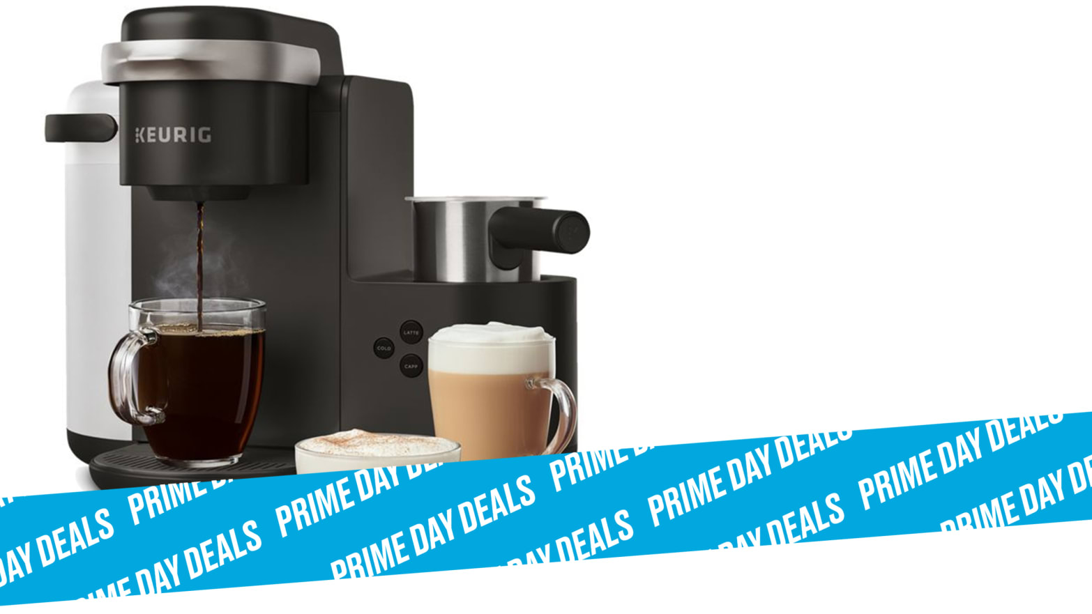The Keurig K-Cafe Is $100 for Prime Day