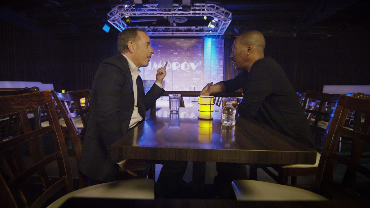 Eddie Murphy Opens Up to Jerry Seinfeld About His Lifelong Feud with Bill Cosby on 'Comedians in Cars'