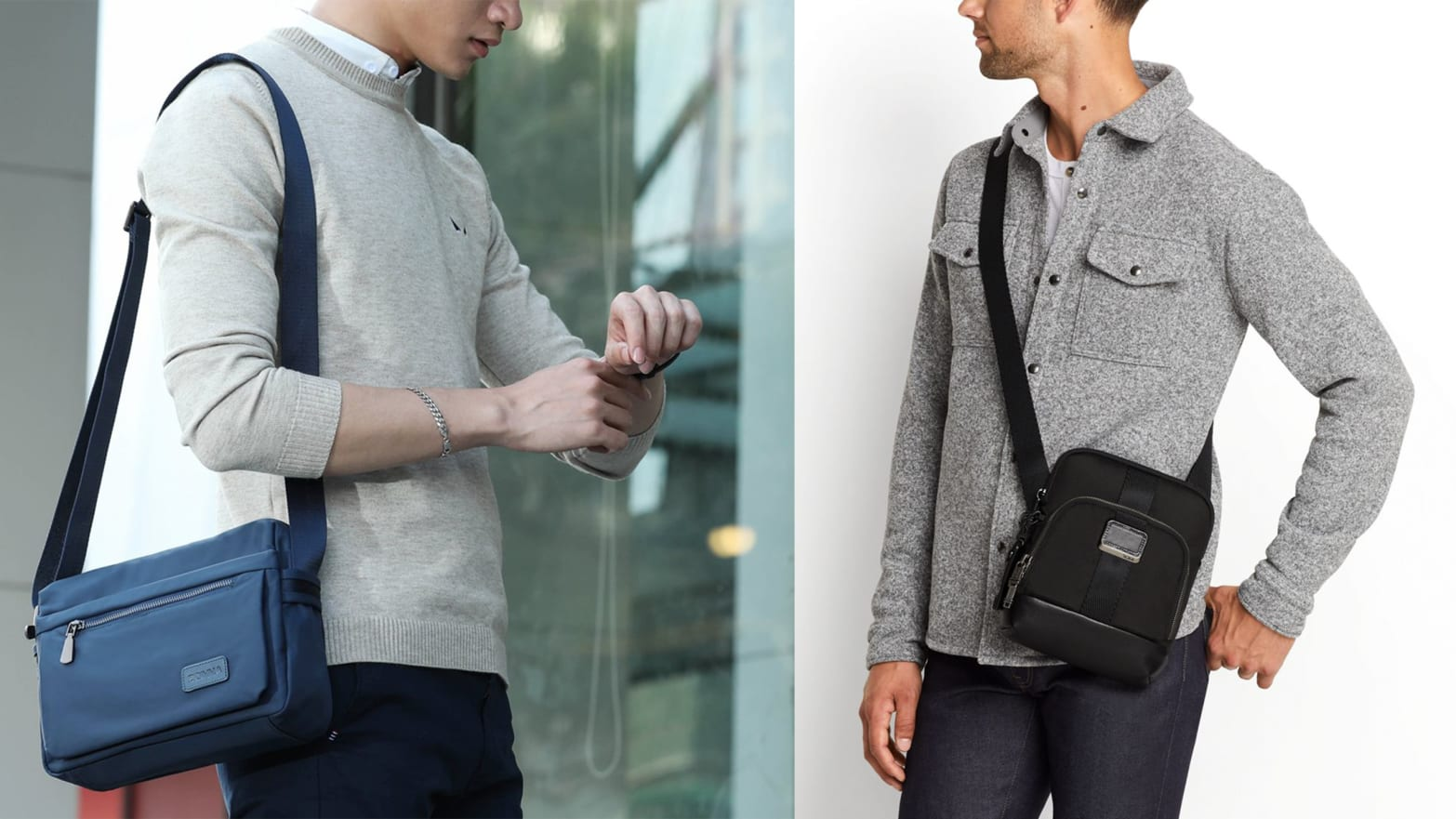 various design official site lace up in Everyone Needs a Purse. Here Are Some Great Men's Options.
