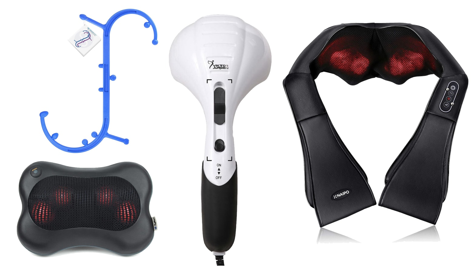 The 4 Back Massagers on Amazon That You Knead