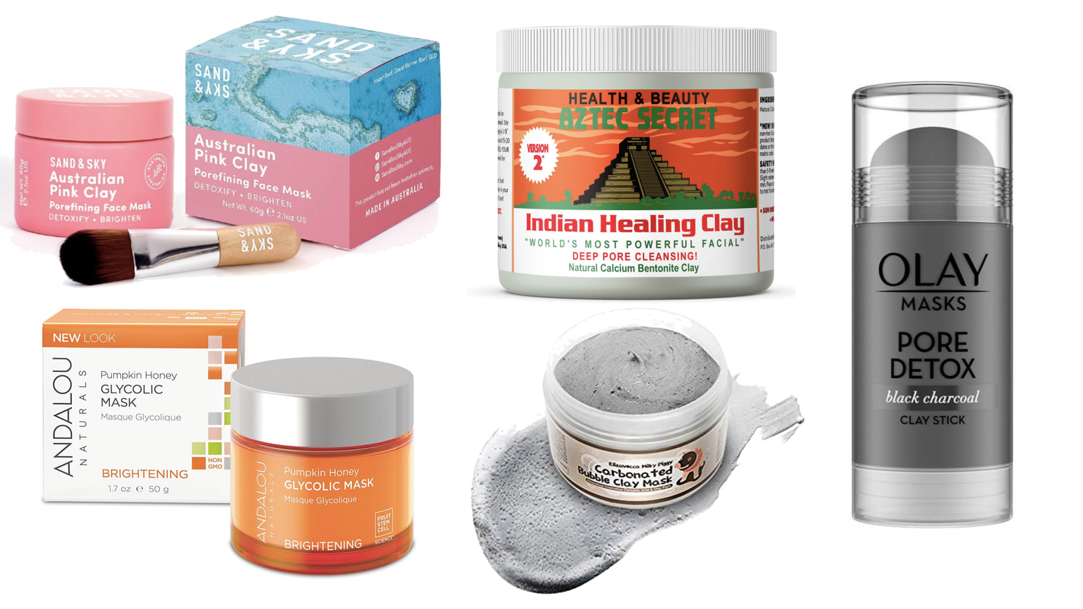 From Clay to Vitamin C, the 5 Best Face Masks You Can Get on Amazon