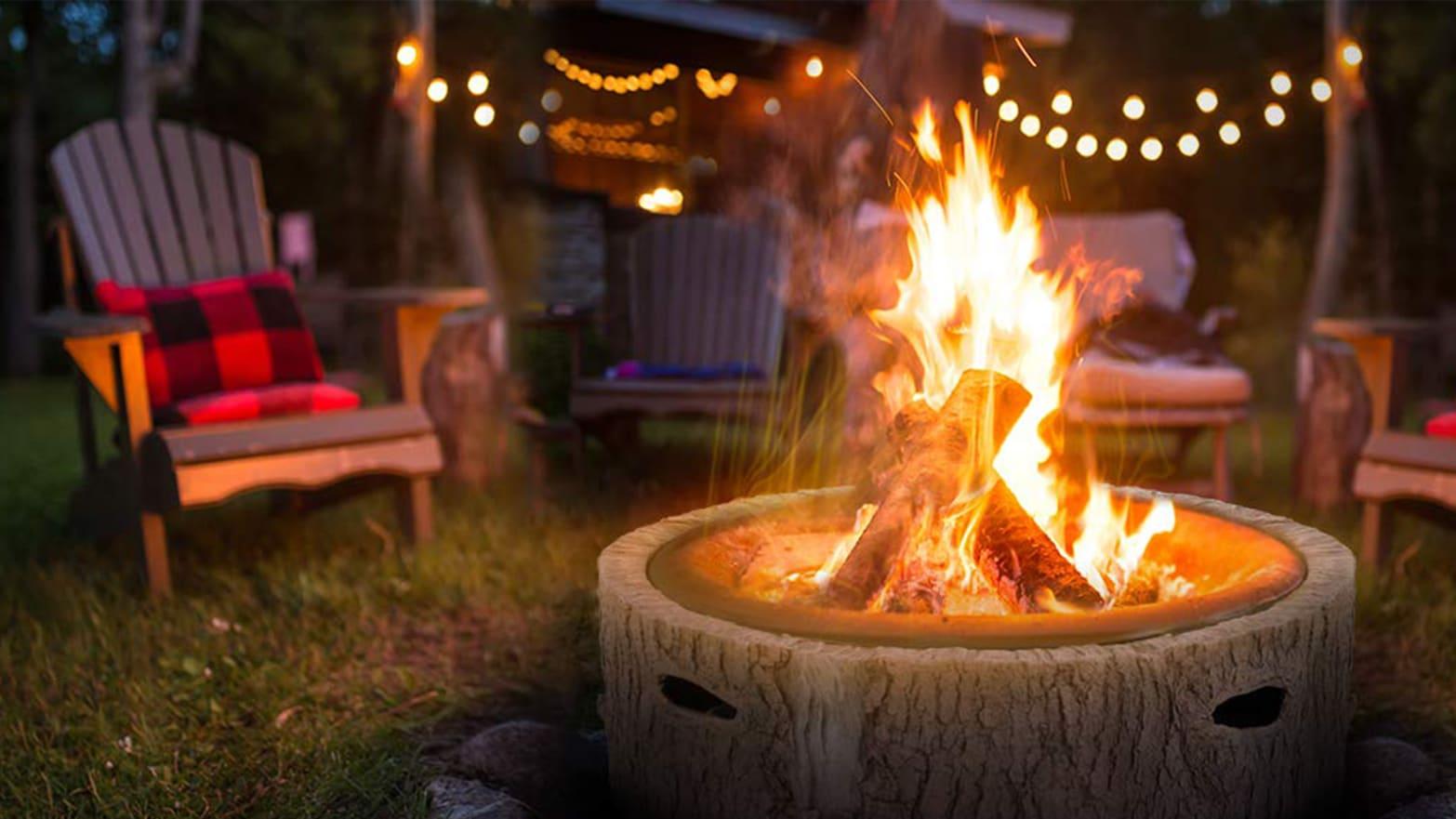 Save Nearly $200 on Martha Stewart's Fire Pit on Amazon