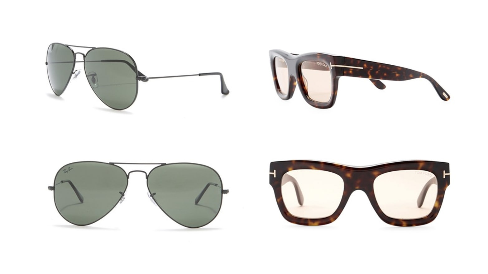 Tom Ford, Ray-Ban, and More Designer Sunglasses Are on Sale at Nordstrom Rack