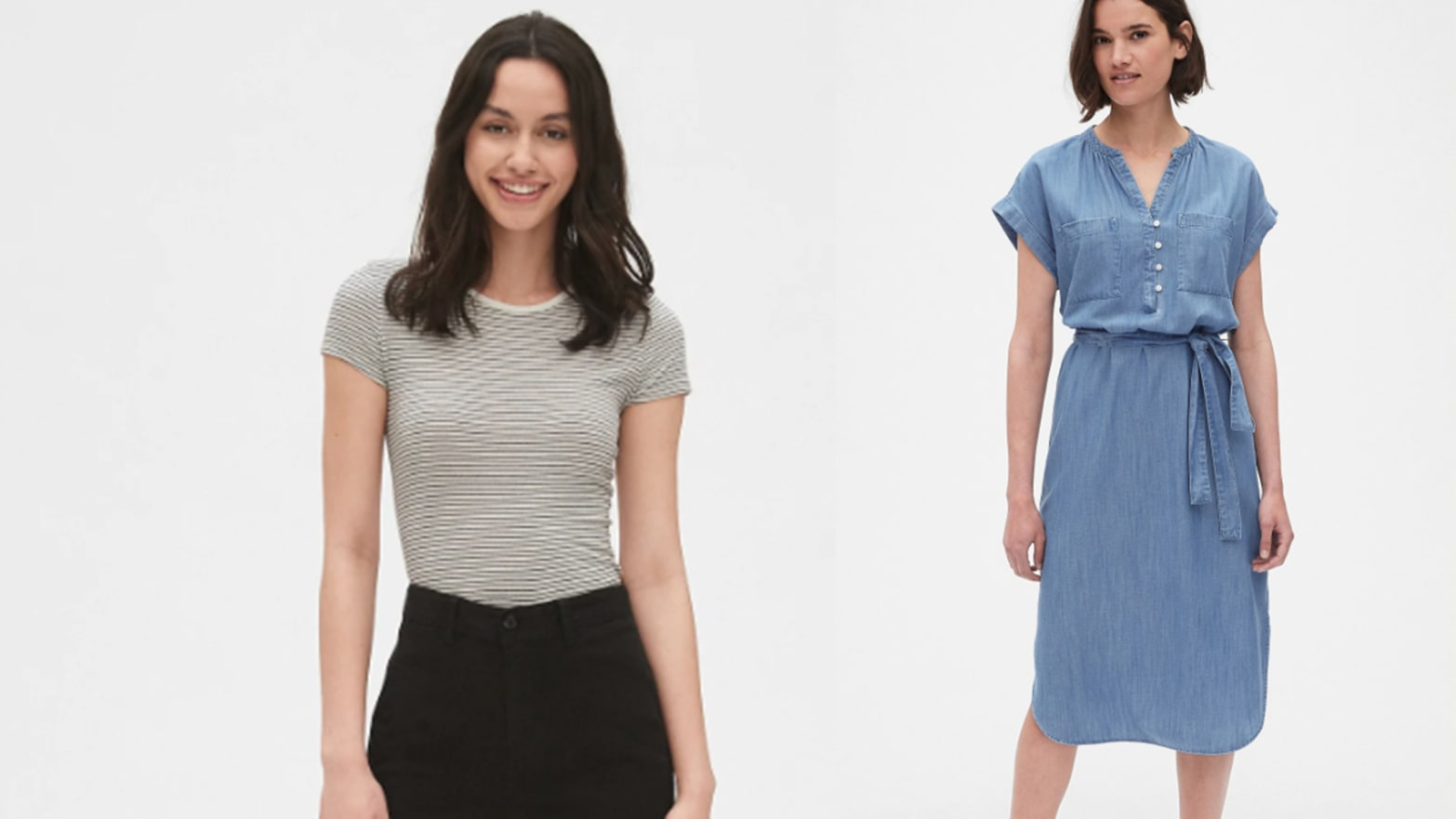 GAP Is Cutting an Extra 50% Off Women's Marked Down Apparel