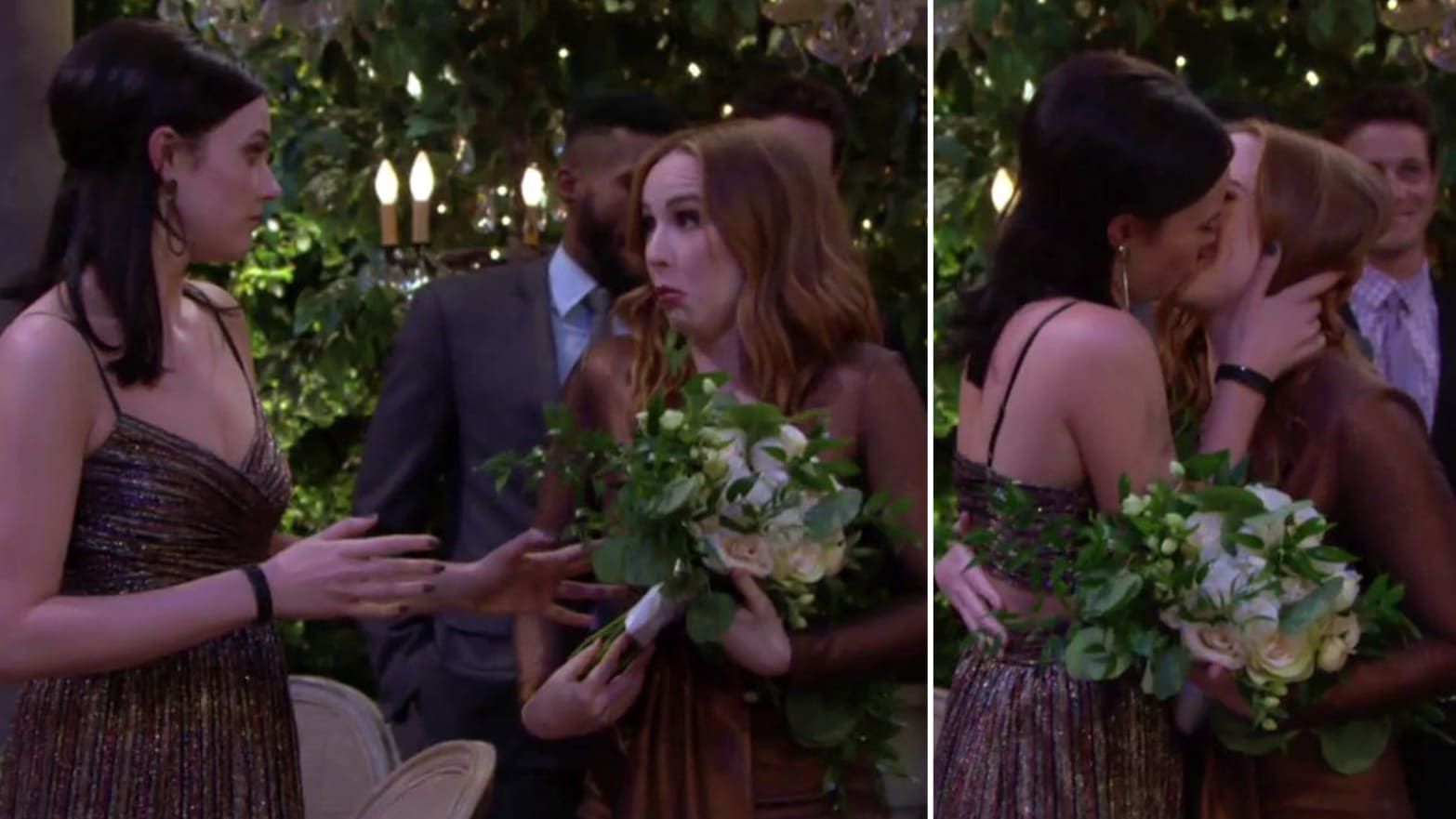 This 'Young and the Restless' 'Teriah' Kiss Is One of TV's Best LGBTQ Moments of the Year