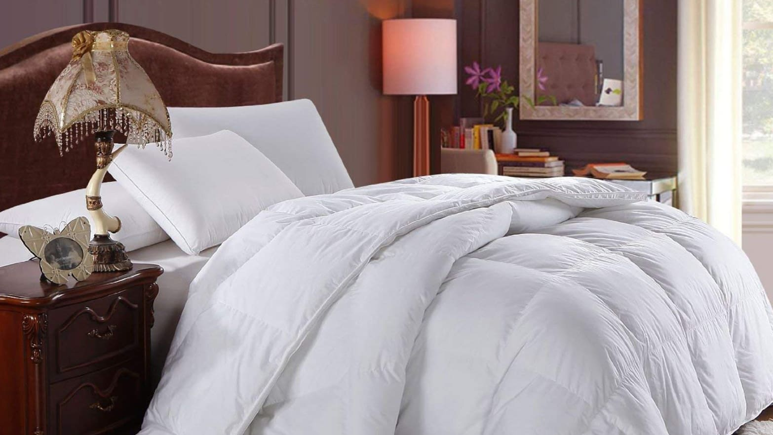 Amazon Cut 26% Off a Top-Rated Down Comforter Today Only