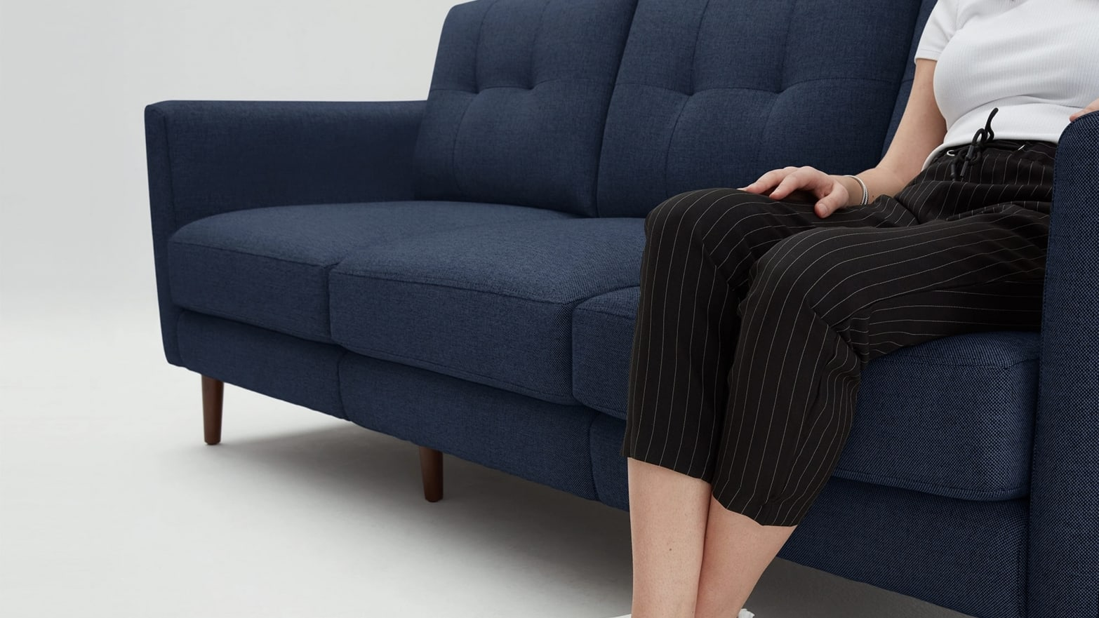 Brilliant Burrow Is Taking Up To 600 Off Flat Pack Sofas Arm Chairs Machost Co Dining Chair Design Ideas Machostcouk