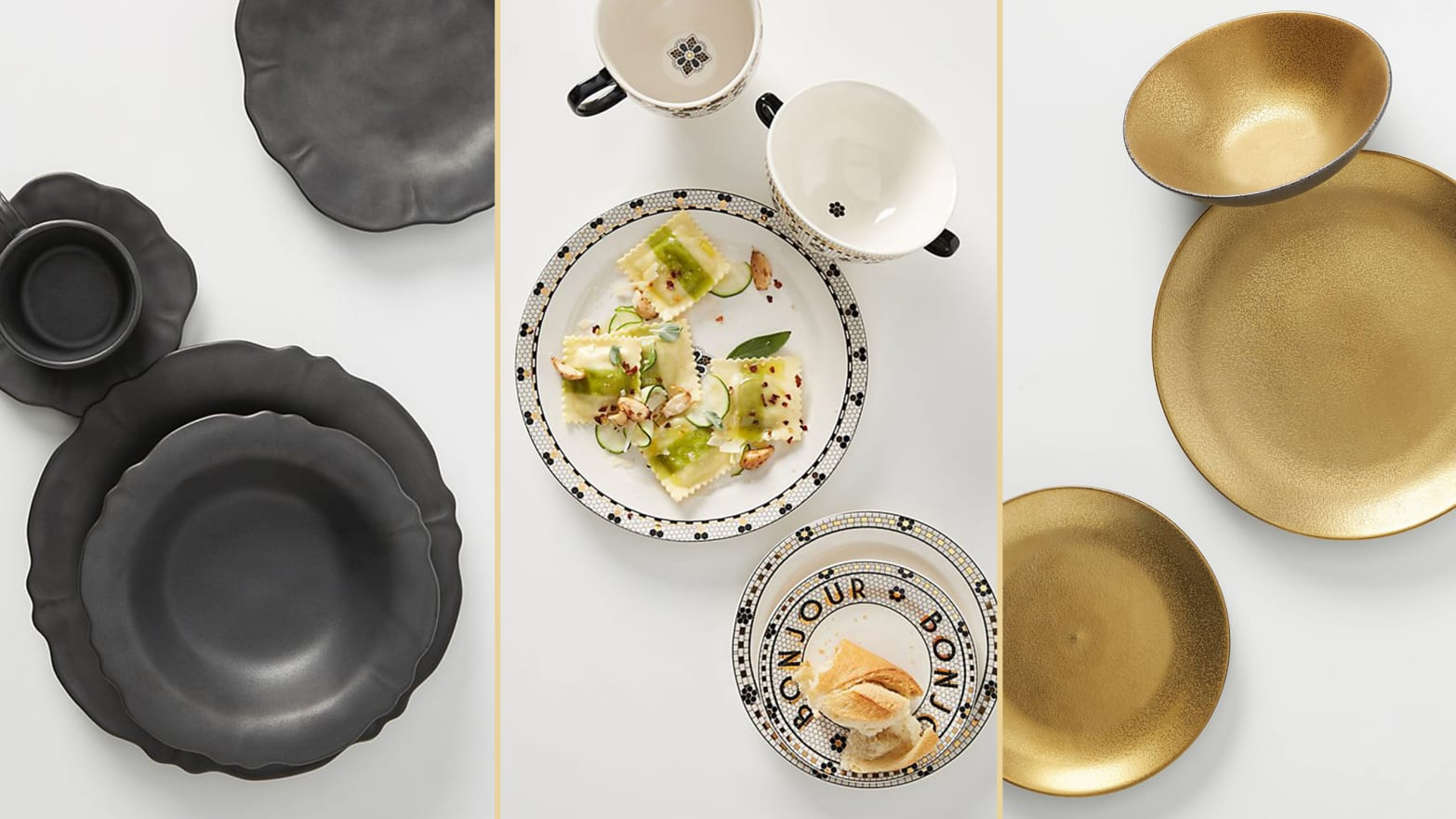 Anthropologie Just Added Hundreds of Fall Home Goods. Here Are Their Best Dinnerware Sets.