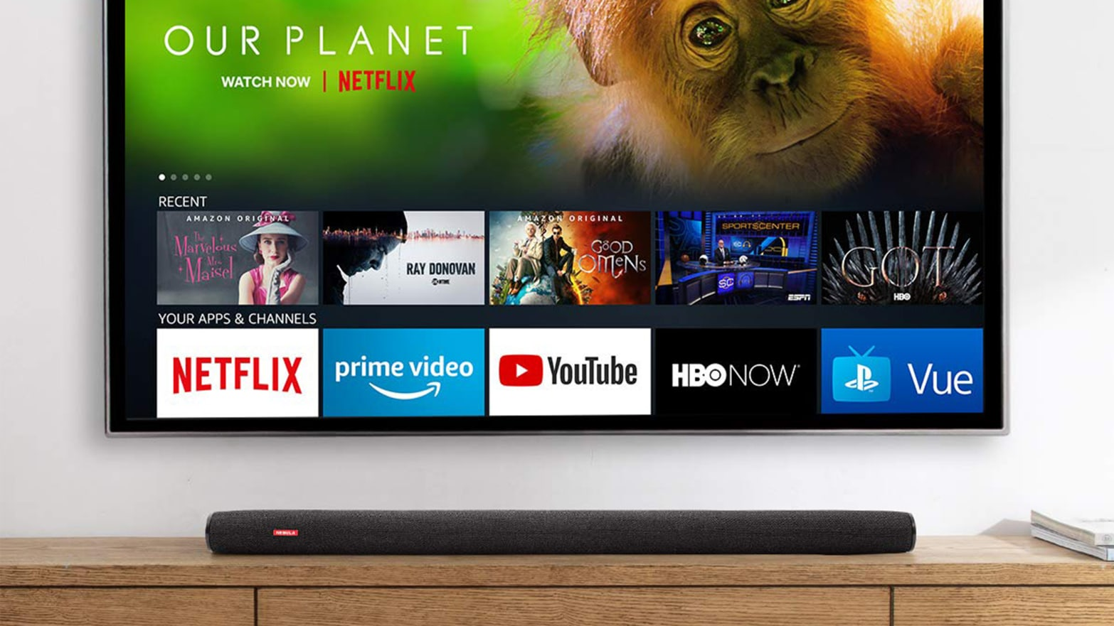 Go Deeper on Amazon Streaming With Its Very Own Soundbar