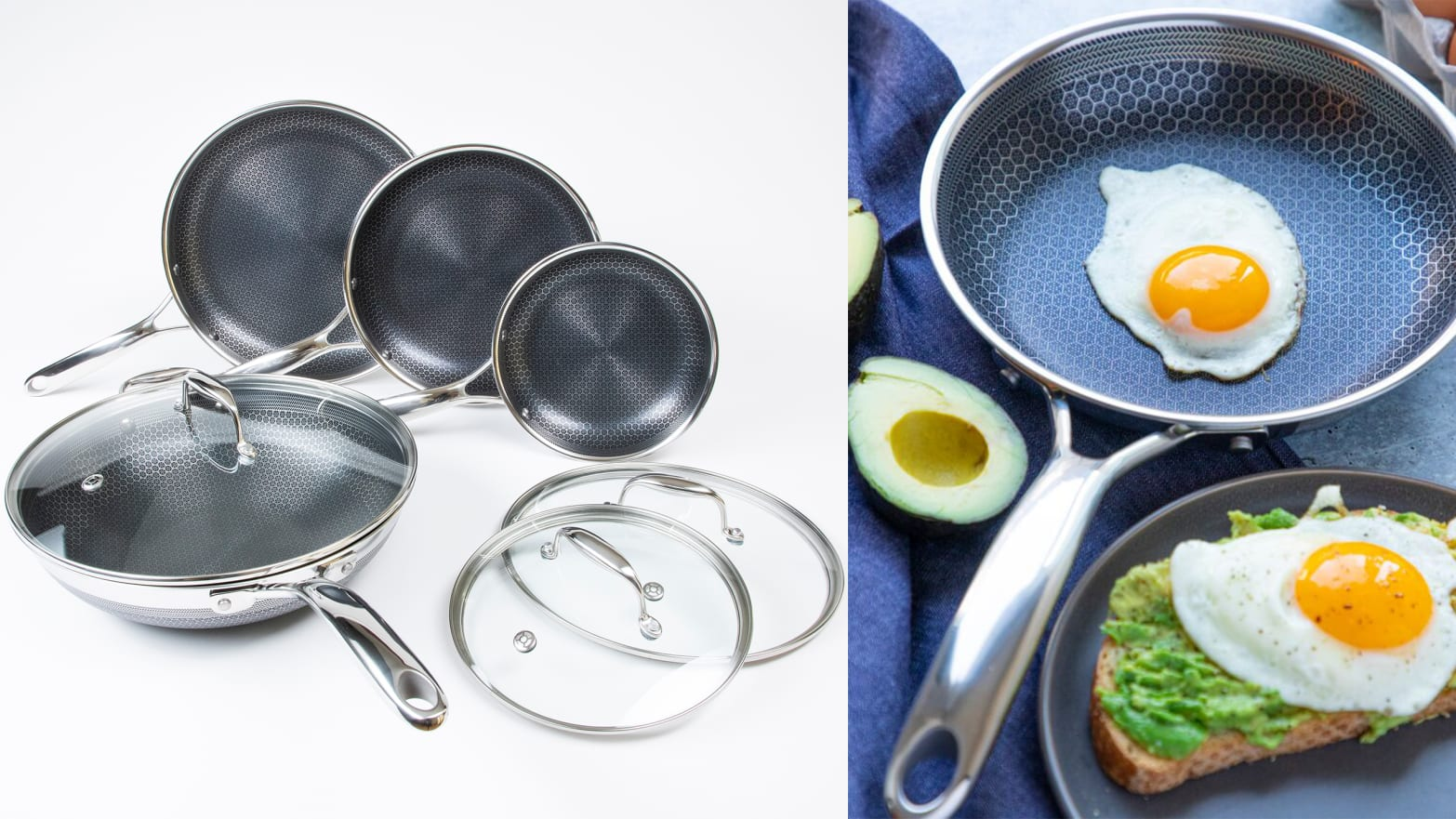 The Brand New Hexclad Pans (and Wok) Set Is One of 2019's Best Cookware Upgrades