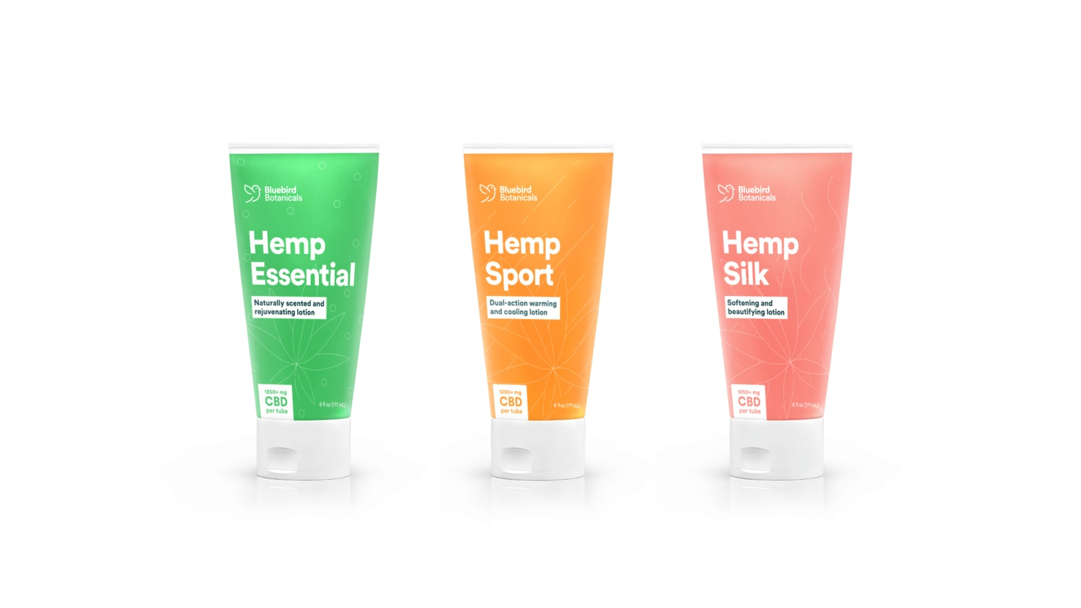 Bluebird Botanicals Launched 3 CBD Lotions for Any Lifestyle