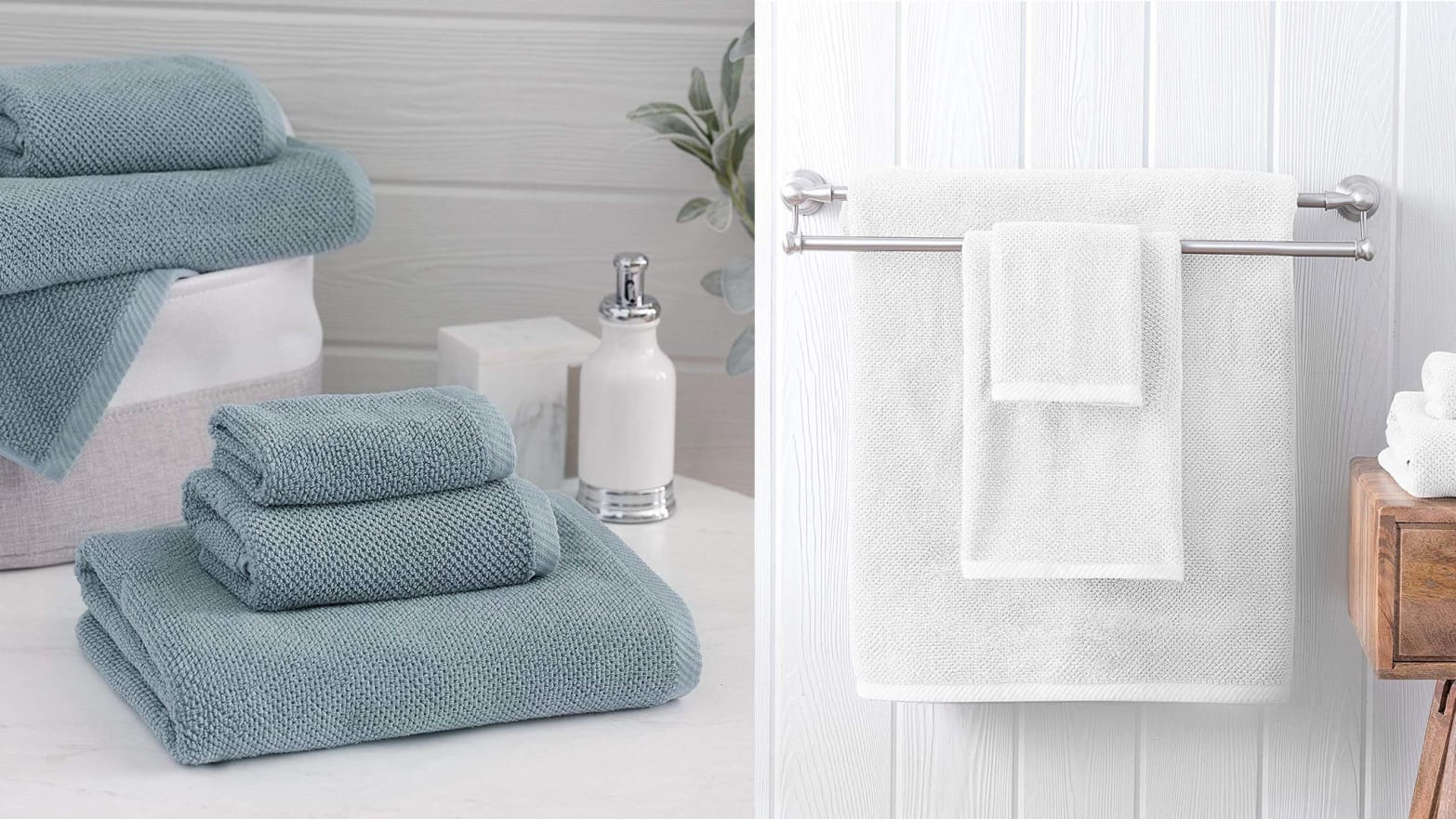 Get Hotel-Level Towels for Your Bathroom on Amazon