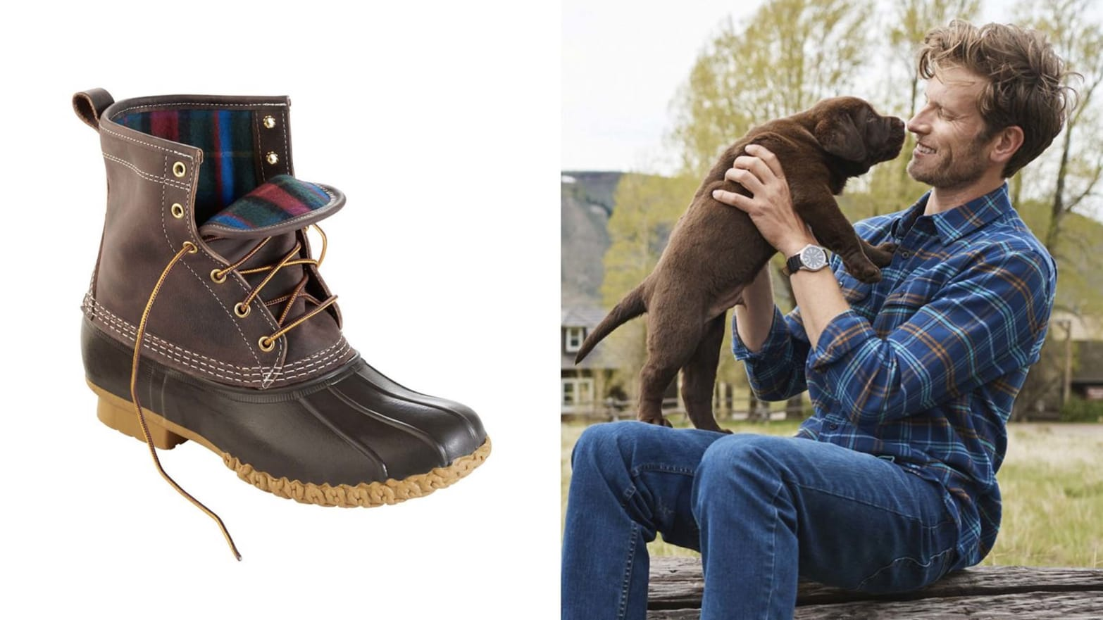 L.L.Bean Flannel Shirts, Sheets, and Bean Boots are 20% Off