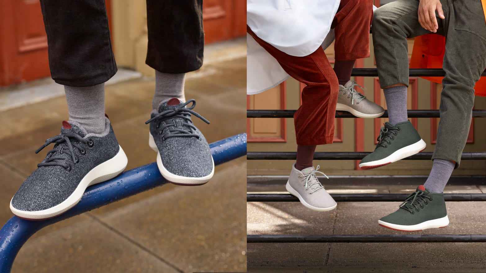 Allbirds Launches the Mizzle Collection, a New Take on Water-Resistant Shoes
