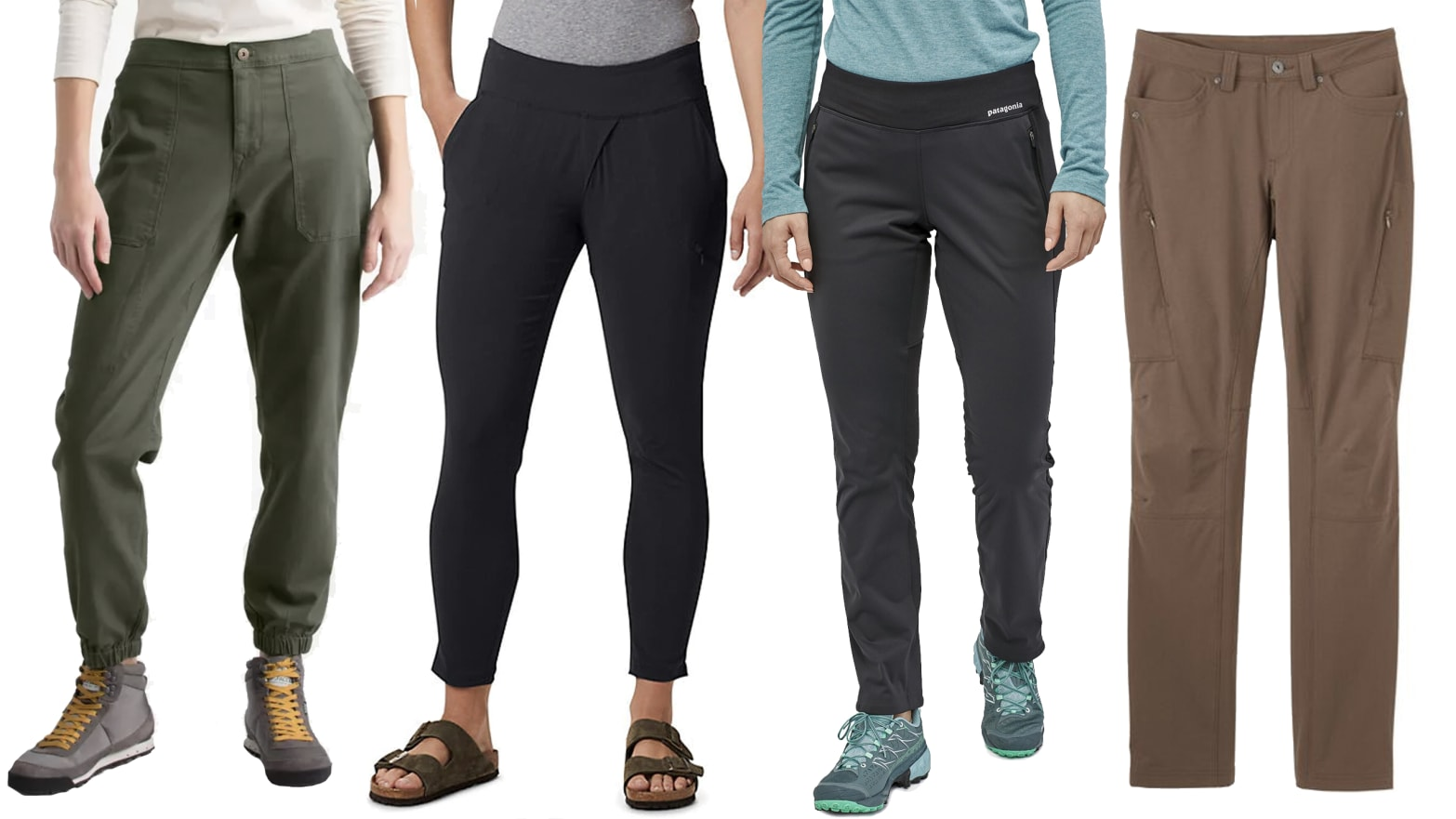 Womens Ladies High Waisted Zip Front Stretch Elasticated Leggings Trouser