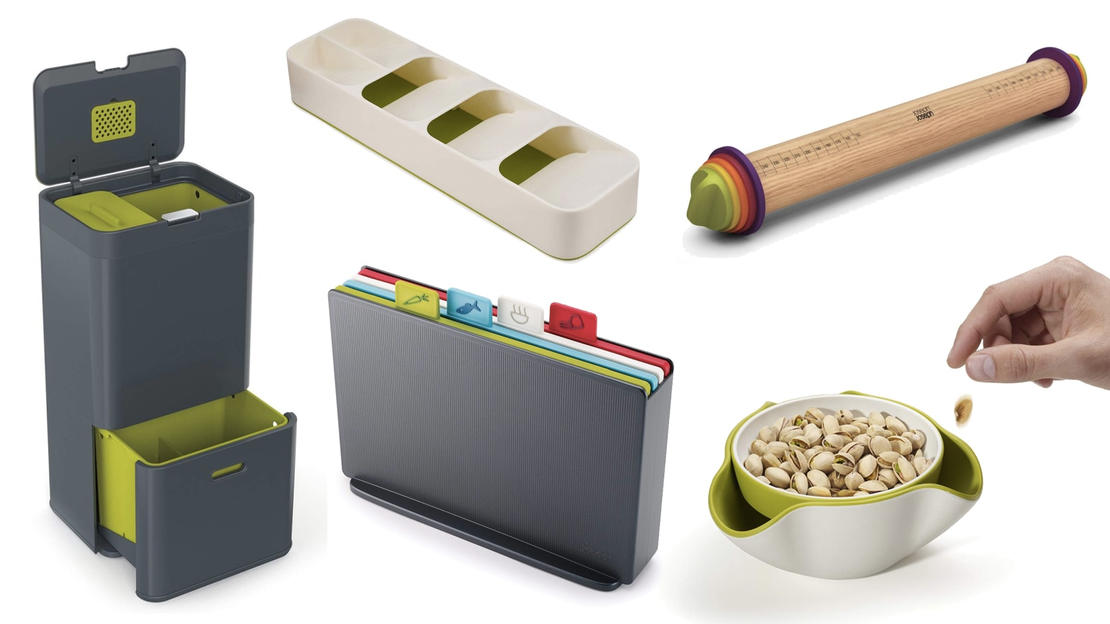 Joseph Joseph Creates Essential, Clever Contraptions to Keep Your Kitchen Organized