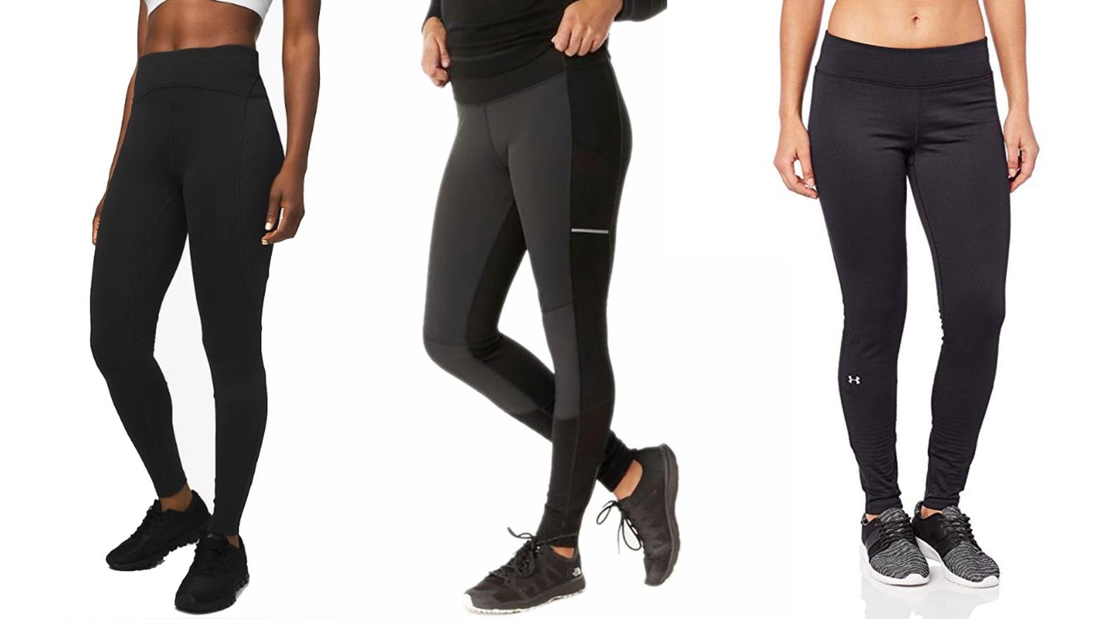 adidas fleece lined leggings