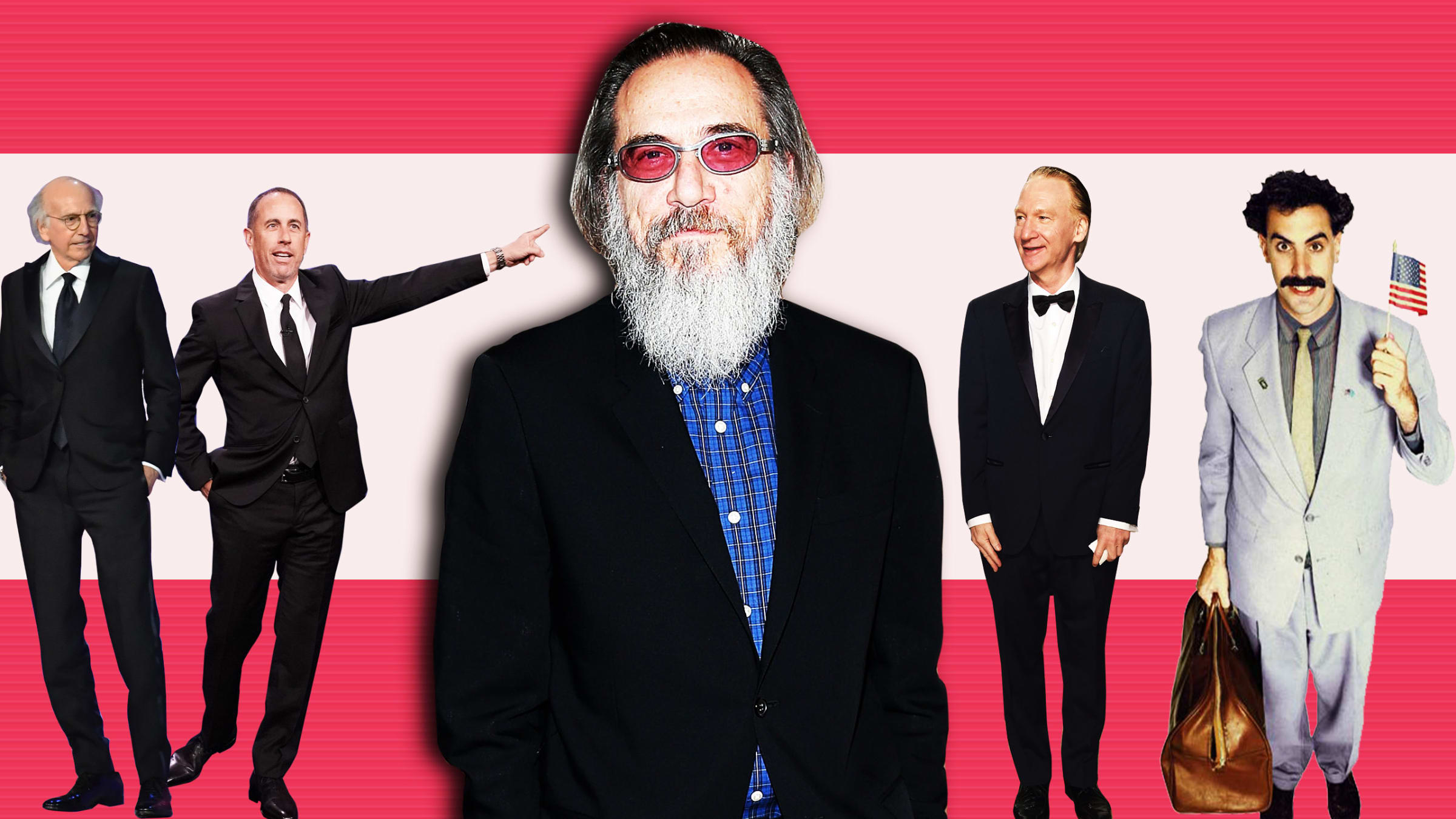f56fefa1e3b 'Seinfeld,' 'Curb' and 'Borat' All Led to 'Larry Charles' Dangerous World  of Comedy'