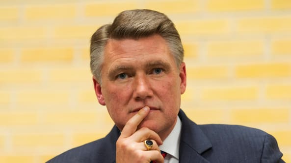 Mark Harris' son warned him about fraud