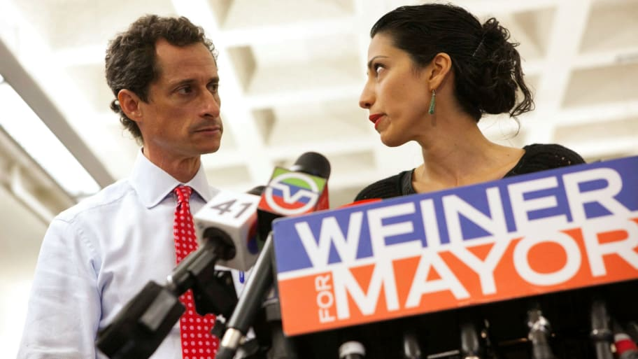 Huma Abedin Files for Divorce from Anthony Weiner as He