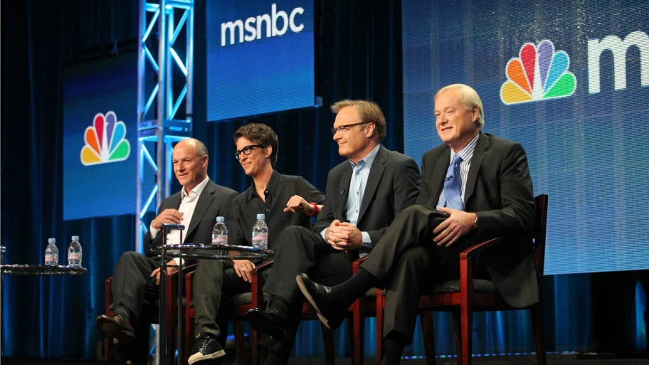Fox News Was Half Right We Do Have Palm >> Msnbc Beats Fox News In Primetime As Scandals Mount