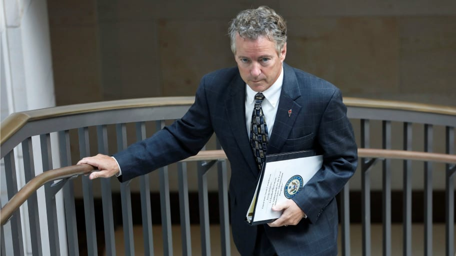 Rand Paul's Neighbor Allegedly Tackled Him Over Lawn Dispute