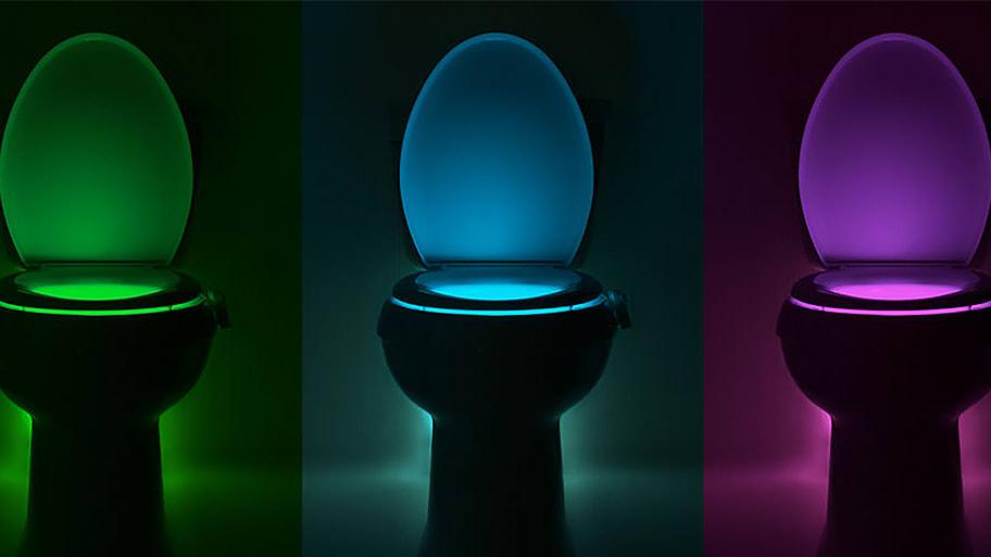 Superb Two Utah Men Invented A Shark Tank Backed Toilet Night Light Lamtechconsult Wood Chair Design Ideas Lamtechconsultcom