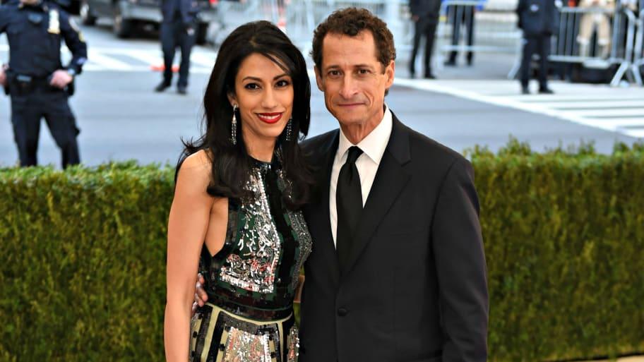 Huma Abedin and Anthony Weiner...