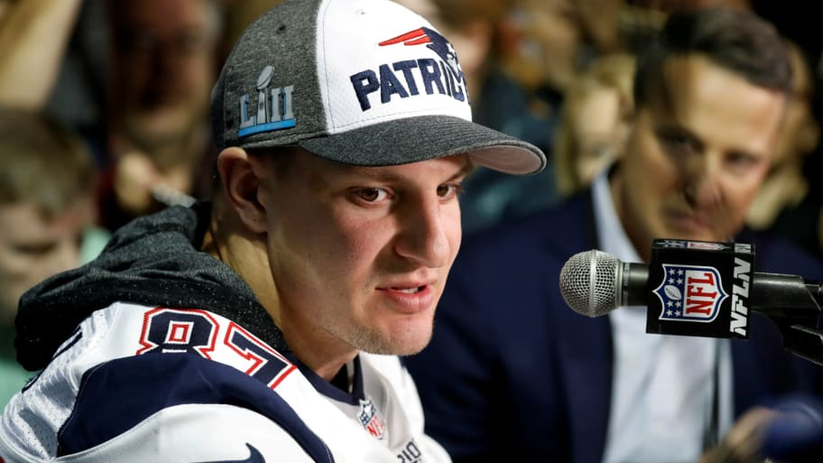 0ae3c1eaa1c Gronkowski 911: My House 'Got Robbed' During Super Bowl