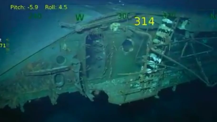 USS Lexington, Sunk in WWII, Found Near Australia 76 Years Later