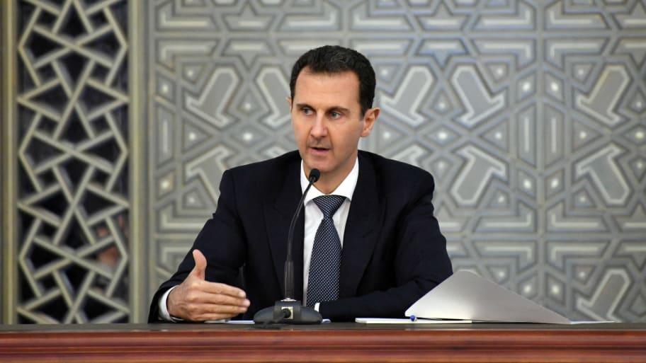 SANA/Handout via Reuters