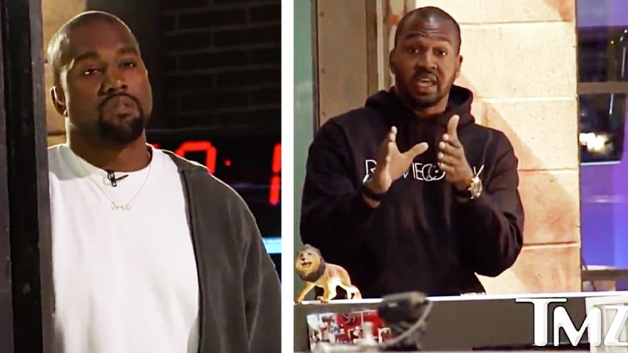 Tmz Staffer Calls Out Kanye West To His Face For Suggesting