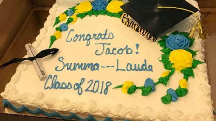 Publix Censors Summa Cum Laude On Graduation Cake Order