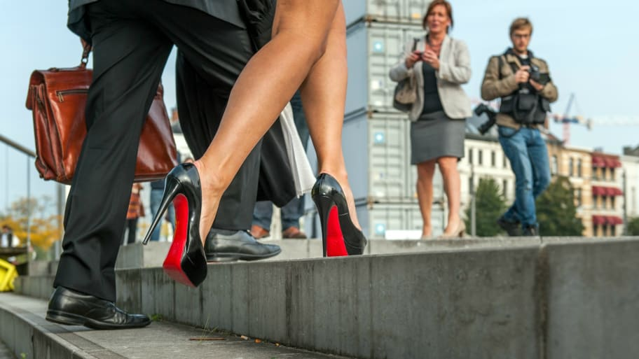 11e498c2280 Louboutin Wins EU Legal Battle for Trademark on Red Soles