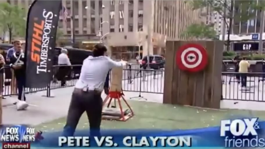 Fox & Friends' Host Pete Hegseth Sued for Hitting Man With