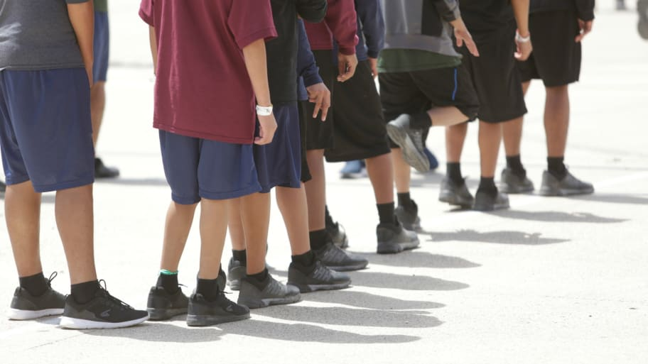 Handcuffing Little Kids May Not Be >> Immigrant Kids Say They Were Beaten While Handcuffed At