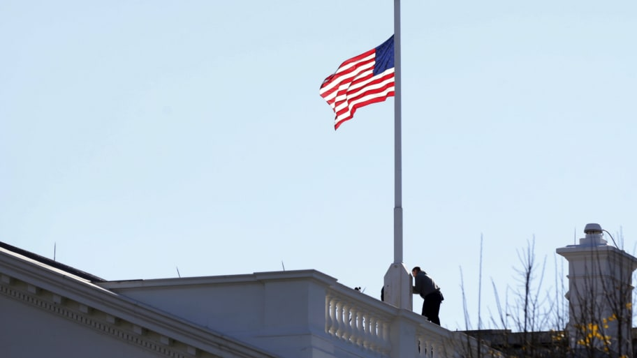 Excellent White House Declines Request To Lower Flags For Annapolis Download Free Architecture Designs Scobabritishbridgeorg