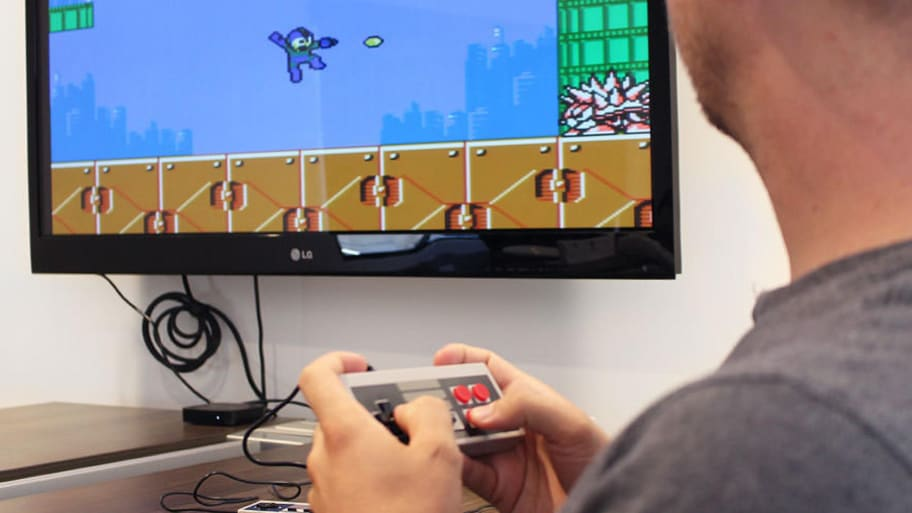 This Video Game Console Comes Preloaded with 600 Classic Games You've Been Dying to Play