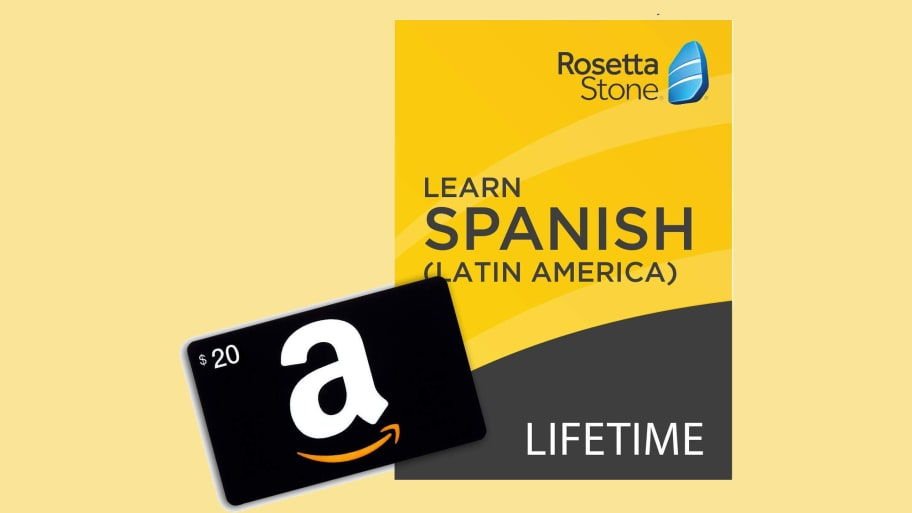 Save 40% On Lifetime Access to Rosetta Stone: Learn Spanish