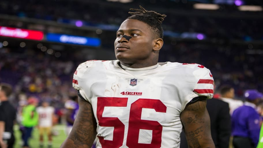 dbd7ca51b San Francisco 49ers Linebacker Reuben Foster Arrested on Domestic Violence  Charges