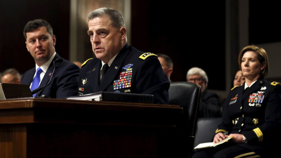 President Trump Nominates General Mark Milley To Chair Joint Chiefs of Staff