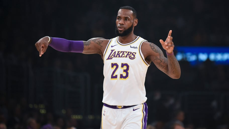 11c9ea533a28 Kelvin Kuo-USA Today Sports. LeBron James apologized Sunday for posting an  Instagram ...