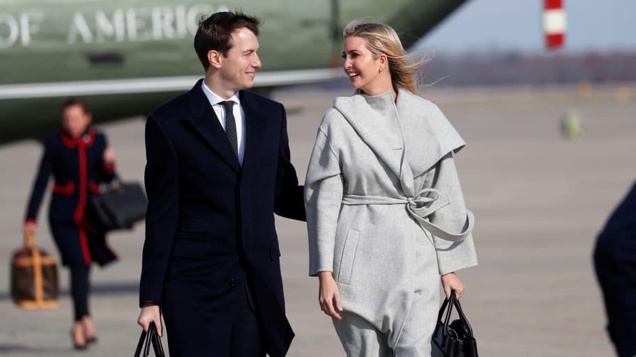 Ivanka Trump And Jared Kushner Go On Vacation During Shutdown