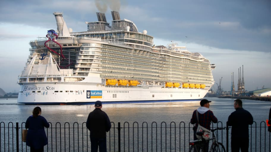 Coast Guard Searches for 20-Year-Old Royal Caribbean Cruise