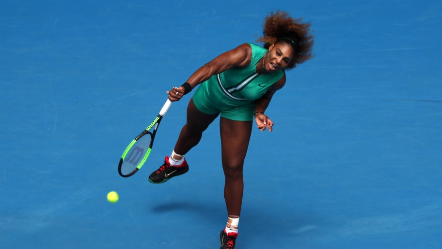 46b37e25a9f Lucy Nicholson Reuters. Serena Williams turned heads Tuesday at the Australian  Open ...